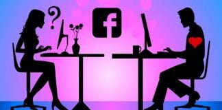 husband and wife facebook lovers