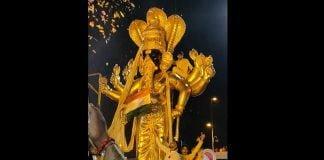 Gold Ganesh Statue In Mumbai
