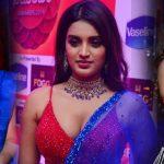 Nidhi Agarwal Hot Stills at Zee Kutumbam Awards