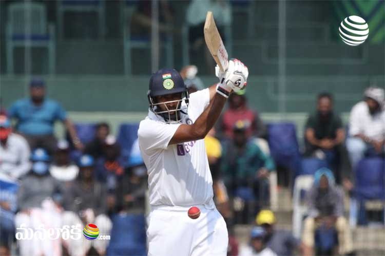ashwin made century in chennai match 482 target for england