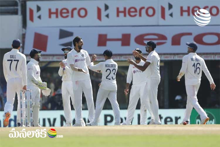 team india in good position after 2nd days play