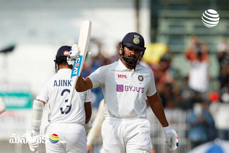 india made 300 for the loss of 6 wickets in first days play in chennai 2nd test
