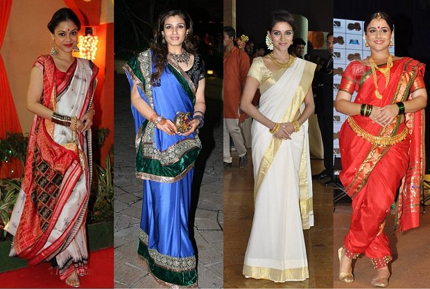 Scientific perspective on wearing a sari ..!