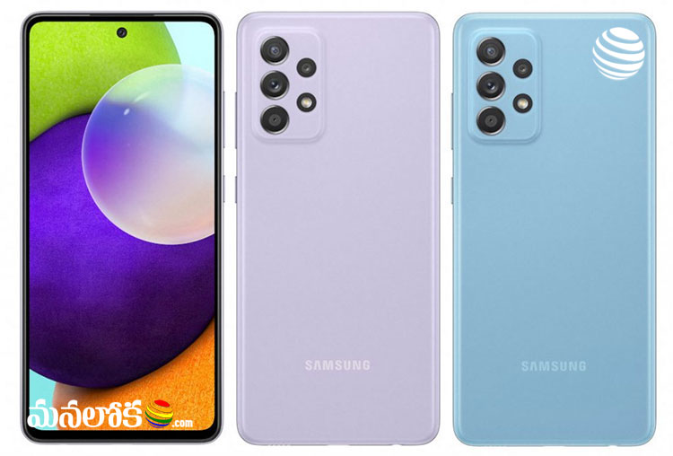 samsung galaxy a52 a72 smart phones launched