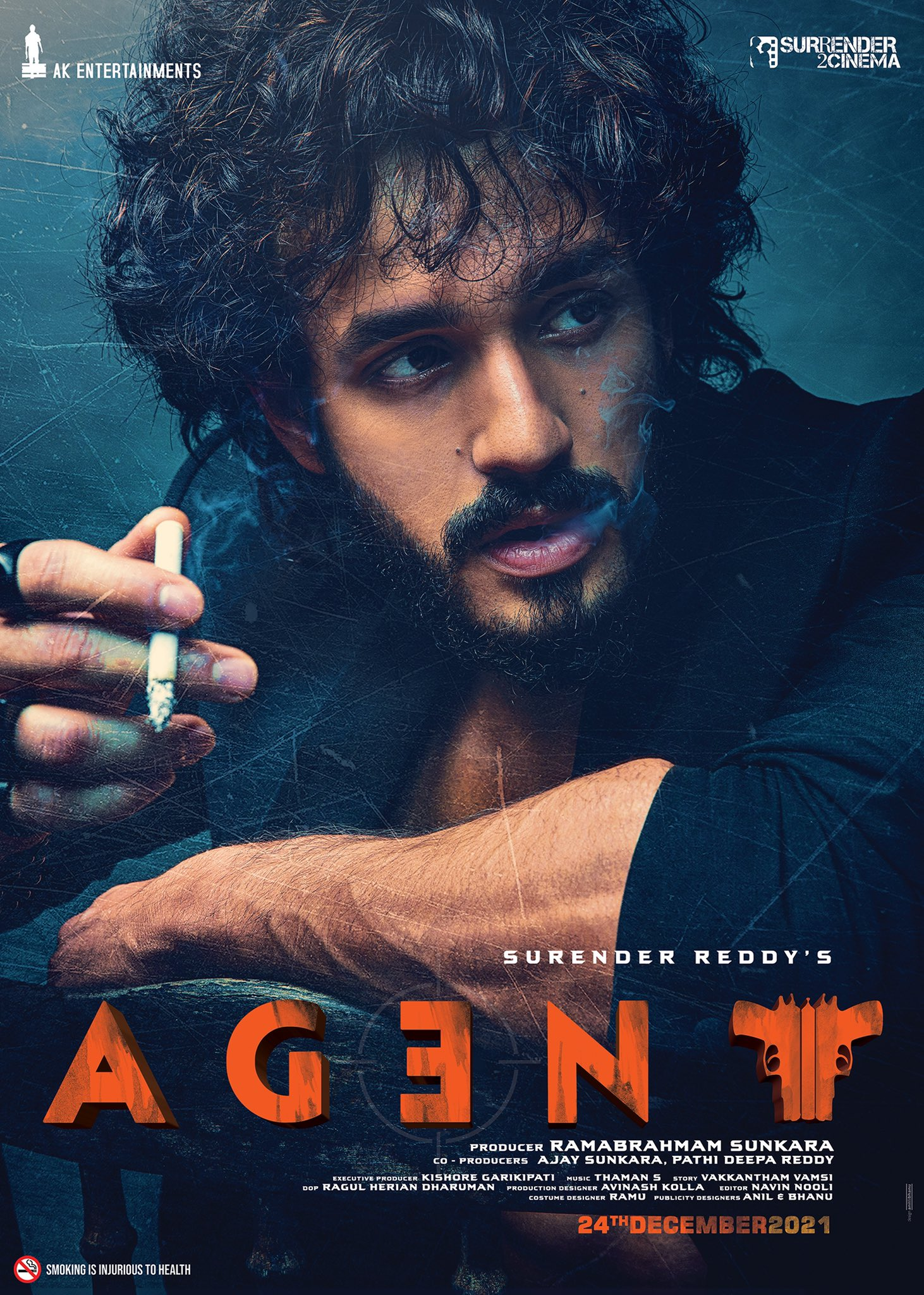 Akhil Agent First Look Released