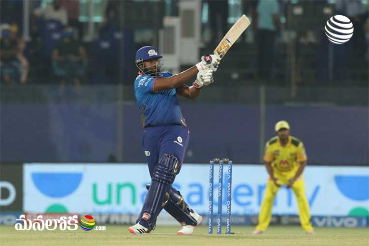 mumbai win against chennai ipl 27th match 2021